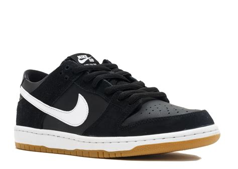 Nike Sb Dunk nike sb zoom dunk low pro quot black gum quot nike 854866 019 black white gum light brow flight club