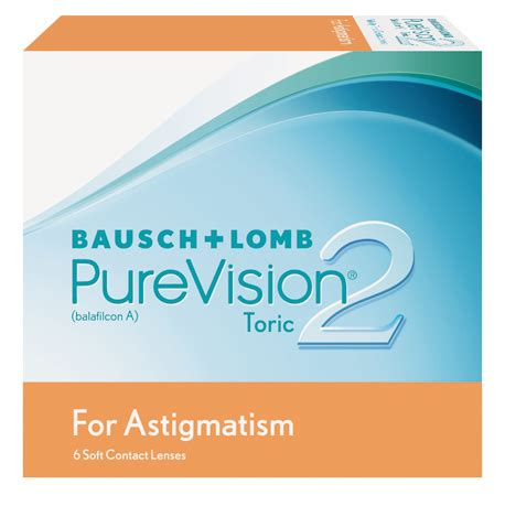 purevision2 toric for astigmatism : bausch + lomb