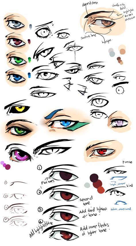 anime eyes anime eyes and tips by moni158 on deviantart