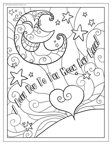 i love you more coloring pages love you to the moon and back coloring pages coloring pages