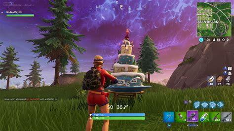 fortnite birthday cake locations dance  front  cakes