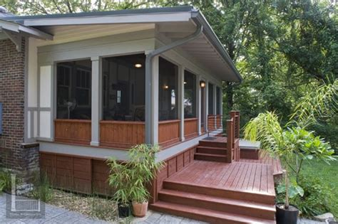 shed roof screened porch shed roof screened porch with kneewall house home