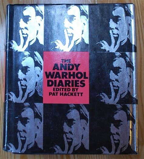 libro the andy warhol diaries andy warhol s diaries first hardcover edition from warner books first printing 1989
