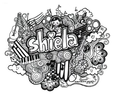 cool doodle names doodle illustration signs and