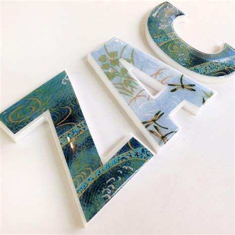 Decorative Letters For Nursery Nursery Decor Decorative Letters For Children S Room