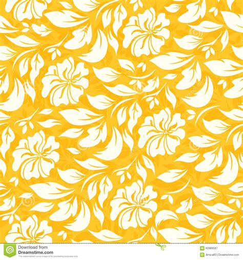 yellow pattern clipart abstract seamless pattern with beautiful yellow floral