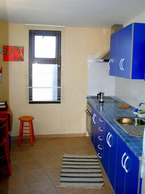 apartment küche ferienwohnung lanzarote bungalow famara