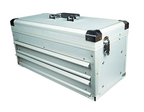 tool box with drawers uk maplin aluminium tool box 2 sliding drawers case storage