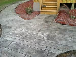 Patio Concrete Stain Ideas Countryside Concrete Inc Colored Amp Stamped