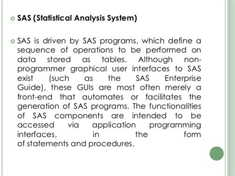 Sas Access Interface Engine 8 User school management system