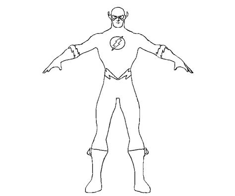 imagenes para pintar flash flash 16 super h 233 ros coloriages 224 imprimer