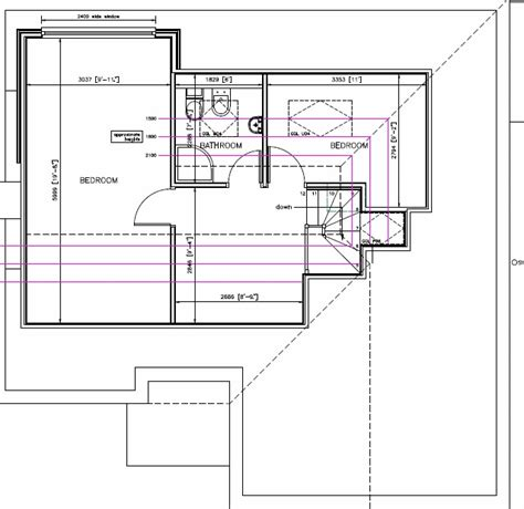 house with attic floor plan bungalow loft conversion plan stafford buckley loft