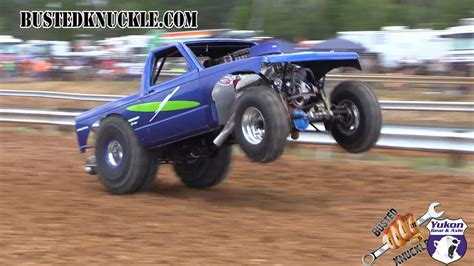 monster truck drag race mra fast track outlaws insane horsepower youtube