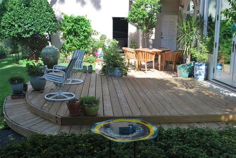 simple backyard deck ideas backyard design ideas welcoming your summer home