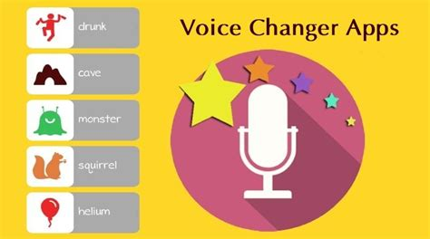 voice apps for android 5 voice changer apps for android with many voice effects