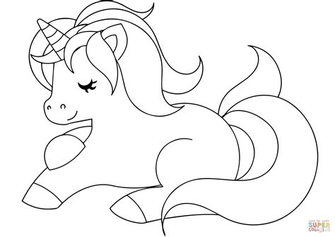 cute inside out coloring pages coloring pages of cute unicorns bourseauxkamas com