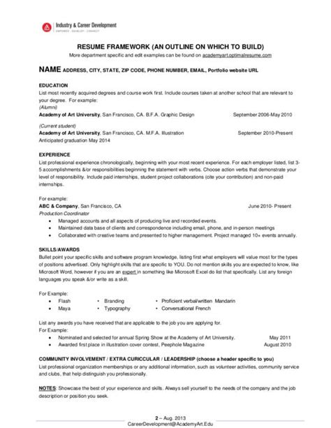 successful resume templates how should my resume be