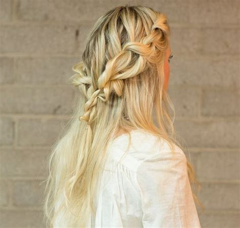 Braided Up Hairstyles by 20 Trendy Half Braided Hairstyles