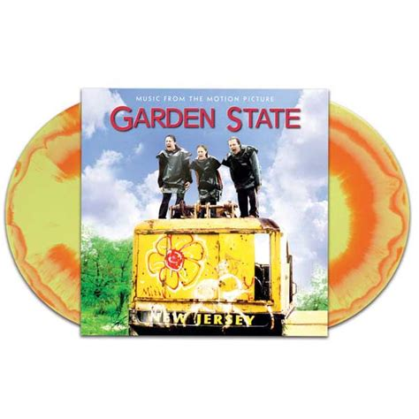 Garden State Soundtrack by Garden State Soundtrack 2xlp Orange Yellow Vinyl Black Friday 2015 Record Store Day Release