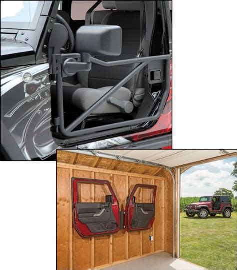 Jeep Doors Mirrors Jk Rancho Front Tubular Road Doors With Quadratec