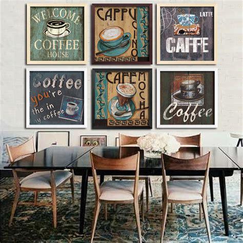 modern cafe theme design ideas home decorating ideas theme coffee creative dinner cafe wall decoration canvas