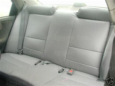 custom leather seats for honda civic honda civic 2001 2002 leather like custom seat cover ebay