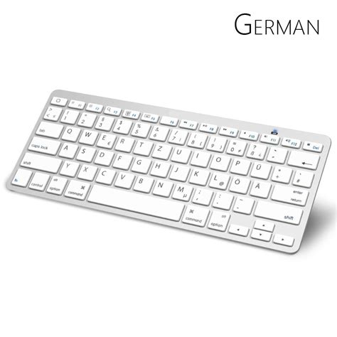 layout keyboard german german bluetooth keyboard with qwertz layout wireless