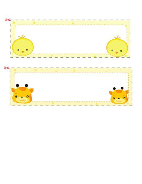 children s name card templates name cards for 3 kidspressmagazine