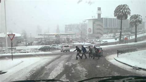 fotos santiago invierno santiago chile nieve invierno los trapenses youtube