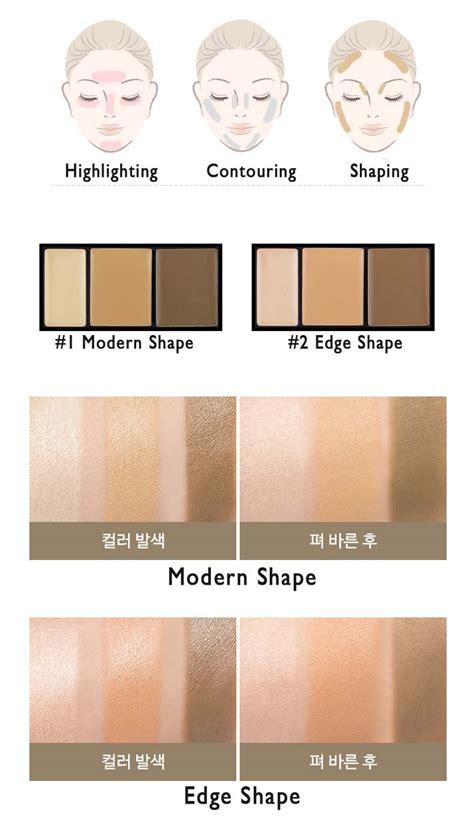W Lab W Lab 3d Shape Highlighter box korea a pieu small shading kit 1 4g 2 6g