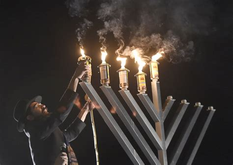 How To Light Hanukkah Candles by Lighting The World From Sykesville On The Fourth Of