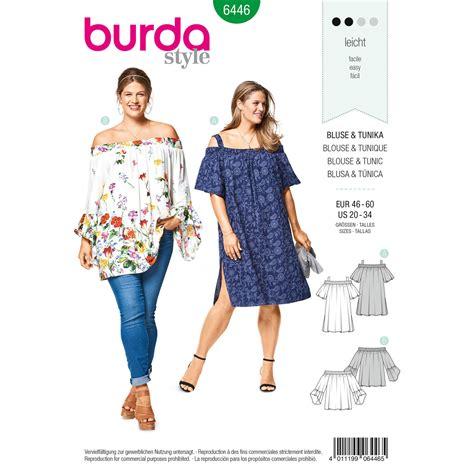 Burda Burda Style Pattern B6446 Women S Sleeve Variation Top | burda burda style pattern b6446 women s sleeve variation top