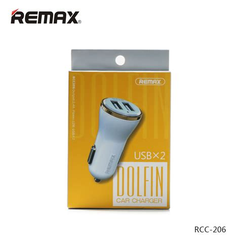 Sale Remax Dolfin Dual Usb Car Charger 2 4a For Smartphone Rcc206 remax dolfin dual usb car charger 2 4a for smartphone rcc206 golden jakartanotebook