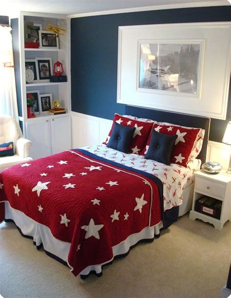 red white and blue bedroom decor best 25 patriotic bedroom ideas on pinterest american