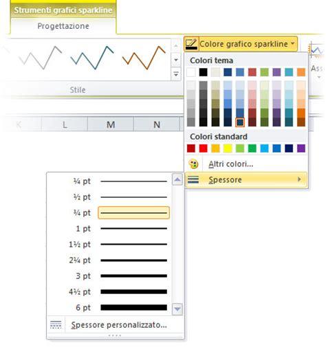 layout grafici excel 2010 i grafici in excel 2010