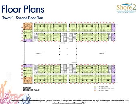shore residences floor plan shore residences smdc