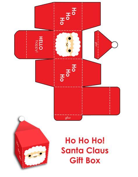 merry christmas santa gift box  hellohappycrafts  deviantart
