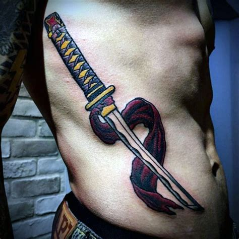 samurai sword tattoo designs 40 katana designs for japanese sword ink ideas