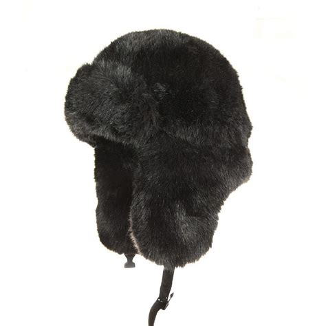 Trapper Hat jaxon hats faux fur trapper hat cold weather