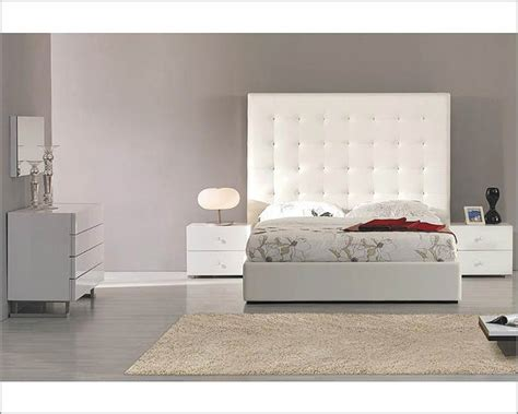Contemporary Bedroom Sets Made In Italy Modern Upholstered White Bedroom Set Made In Italy 44b4611w
