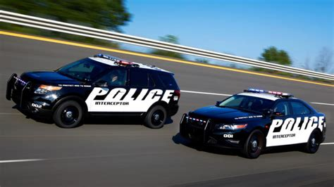 ford taurus cop car get used to the ford taurus and explorer cop cars because