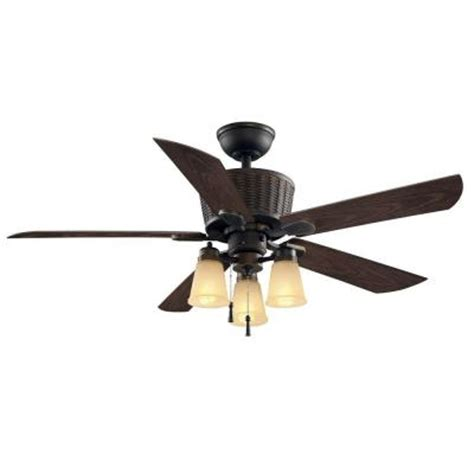 hton bay coleburn 52 in rubbed bronze indoor