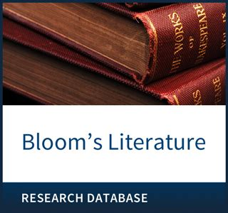 Literature Database That Includes Essays by Databases Infobase
