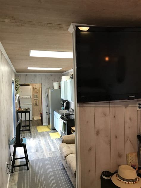tiny house town texas container home  sq ft