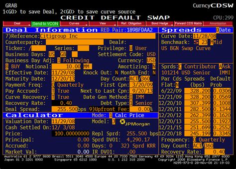 Credit Spread Sensitivity Formula Credit Default Swaps Herald Of Doom For Beginners The Baseline Scenario