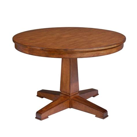Ethan Allen Dining Room Tables Round by Sierra Dining Table Ethan Allen 48 Quot Round With Leaf