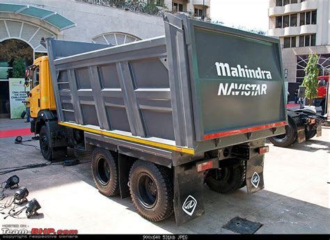 mahindra tractor trailer report pics mahindra navistar mn25 tipper mn40