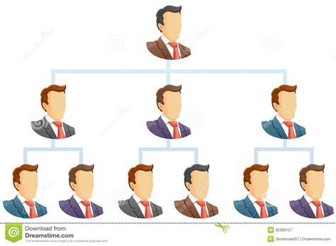 organization chart royalty free stock photography image