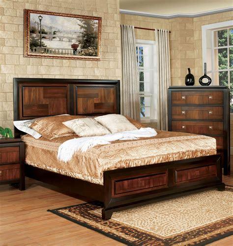bedroom furniture walnut patra bedroom set walnut set of 5 2 001 86