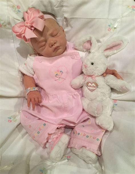 my doll collection on pinterest reborn babies reborn baby dolls lillie beth reborn baby doll in carter s vintage sweet
